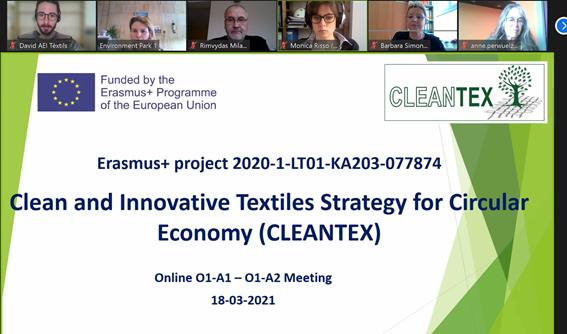 CLEANTEX consortium meeting